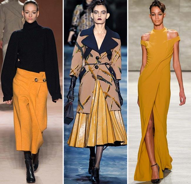 Платья модные этой осенью